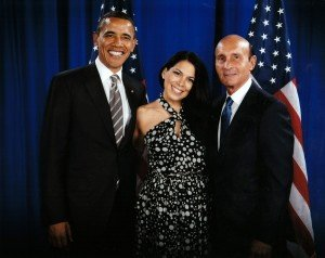 Ed Bernstein with President Obama