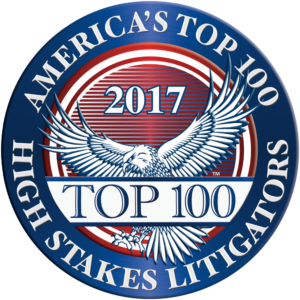 AMERICA'S top 100 HIGH STAKES LITIGATORS®